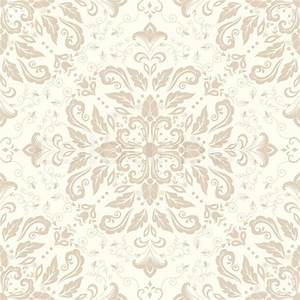 Vector damask seamless pattern element. Elegant luxury ...