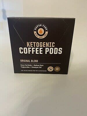 Of hot or cold water to jumpstart your morning or pick up your afternoon. Rapid Fire Ketogenic Coffee Pods, Original Blend Medium Roast 16 Count. 35046104597   eBay