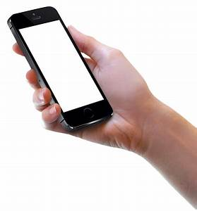 Hand Holding Black iPhone PNG Image - PurePNG   Free CC0 ...
