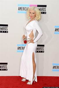 Christina Aguilera Wows In Slinky White Dress At The AMAs HuffPost