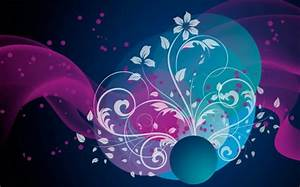 Beautiful Flowers - 3D and CG & Abstract Background ...