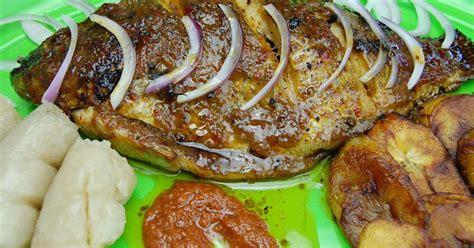 poisson cuisiné tilapia au four recette par tchop afrik 39 a cuisine