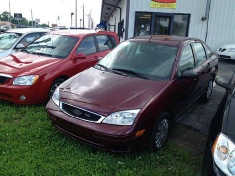 Sell Used 2007 Ford Focus Zx4 Se In 5198 Lafayette Rd