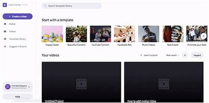 Clipchamp Step Templates Edit Select Template Use