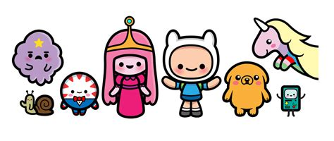 Adventure Time Characters Clipart