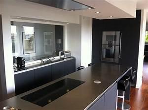 Plan Travail Inox Prix : pose de cuisines design bordeaux cr ations saint bruno ~ Edinachiropracticcenter.com Idées de Décoration