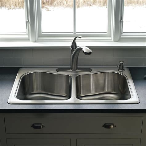 kohler staccato kitchen sink kohler k 3361 3 na staccato large medium self 6700