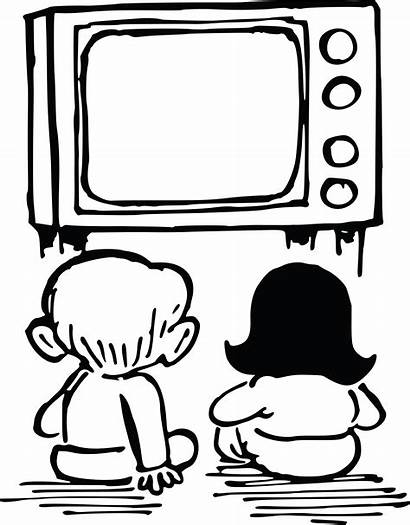 Watching Tv Clipart Ai Svg