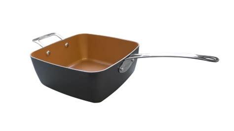 gotham steel   deep square pan jetcom gotham steel deep square stainless steel oven