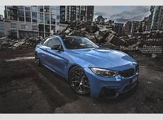 Yas Marina Blue BMW M4 Fitted With Brixton Wheels Carscoops