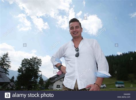 austrian folk singer stock photos austrian folk singer