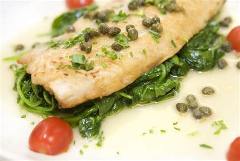 Sauteed Spinach and Fish