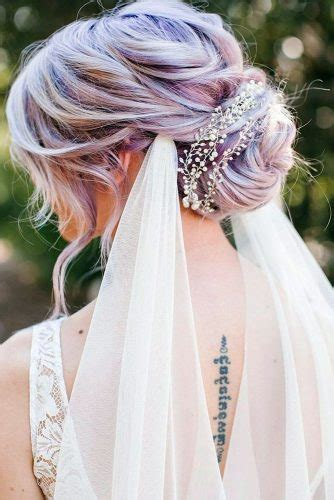42 Wedding Hairstyles With Veil Page 4 of 8 Wedding