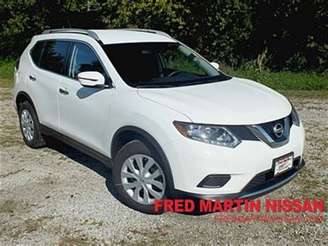 New 2016 Nissan Rogue S 4d Sport Utility In Akron