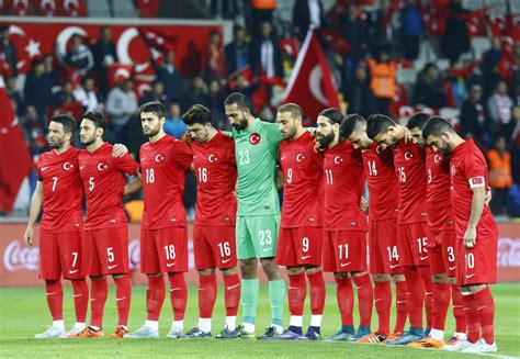 turkey football fans boo  minute  silence