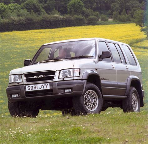 isuzu trooper station wagon review   parkers