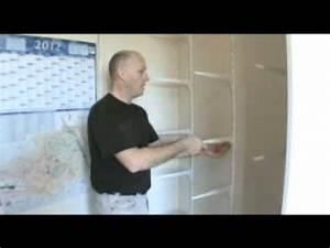 Comment Faire Un Placard Mural : porte coulissante comment faire un placard avec porte coulissante youtube ~ Dallasstarsshop.com Idées de Décoration
