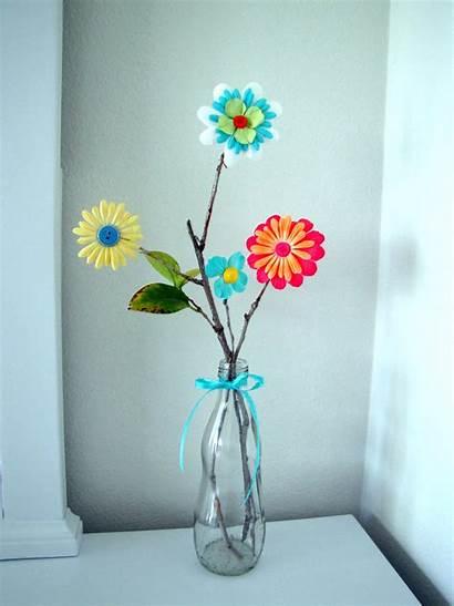 Paper Flower Tutorial Arrangement Craft Flowers Crafts