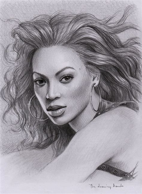 Beyonce By Thedrawinghands On Deviantart  Celebrities
