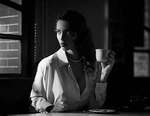 Drinking coffee | Black and white, classy. | Pinterest ...