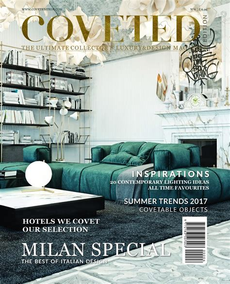 coveted magazine s 6th issue brings special news about milan interior design magazines
