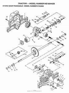Ayp  Electrolux We185h42b  1997  Parts Diagram For Hydro
