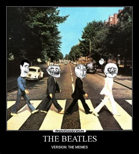 The Beatles Meme - beatles memes