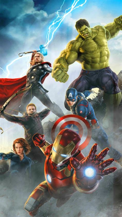 Avengers Age Of Ultron Heroes Wallpapers  720x1280 315914