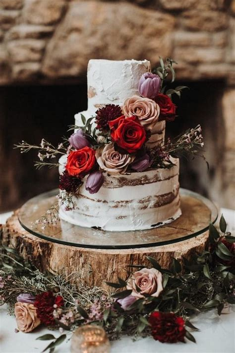 trending delicious fall wedding cakes   page      day