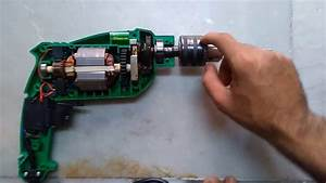 Inside View Of Drill Machine