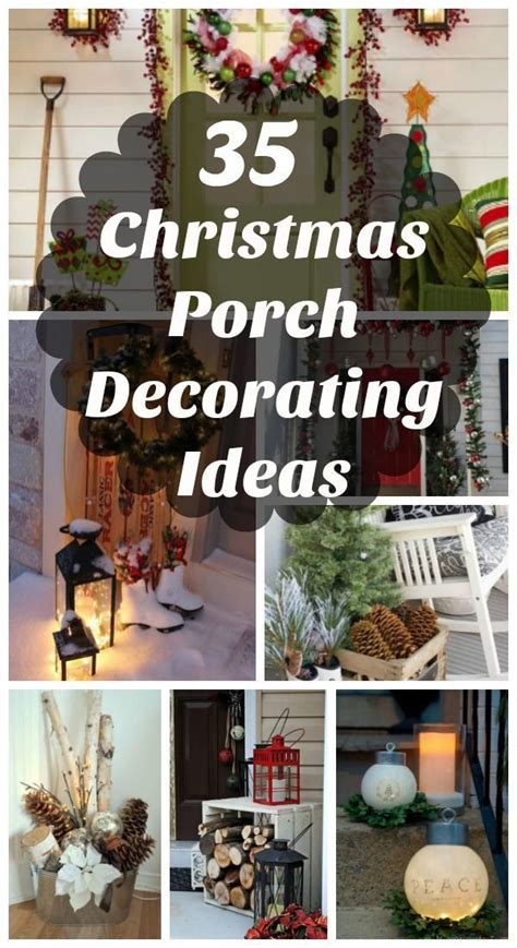 cool christmas porch decorating ideas
