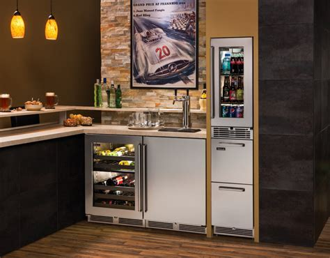 Fully Stocked Home Bar   Basement   Milwaukee   by Perlick