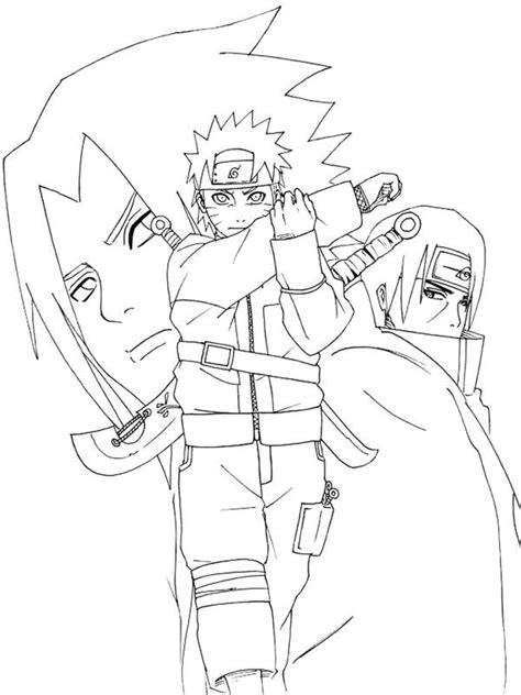 top  ideas  naruto coloring pages  pinterest