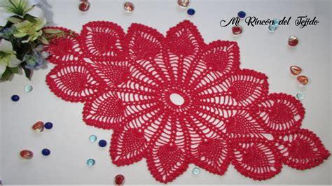 como tejer centro de mesa crochet paso a paso 1 de 2 how to crochet doily step by step 1 of