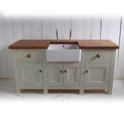 kitchens furniture free standing kitchen sink unit by eastburn country furniture notonthehighstreet