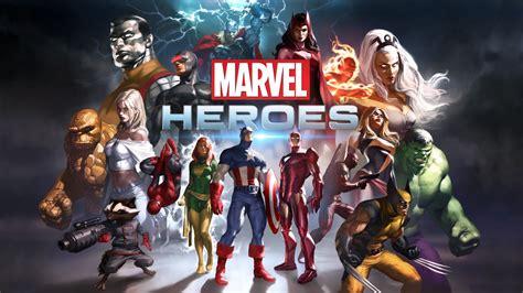 marvel heroes game wallpapers hd wallpapers id