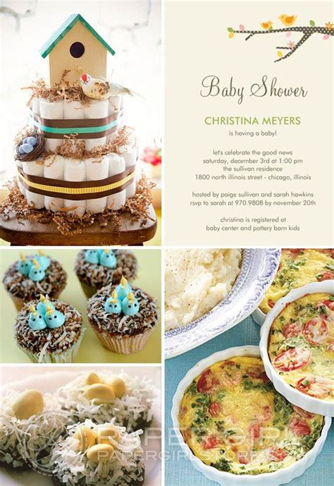 80 Best Images About Bird Themed Baby Shower On Pinterest