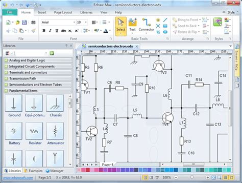 Circuits Logic Diagram Software