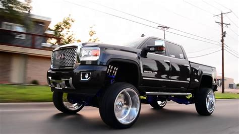 gmc denali built     fts lift