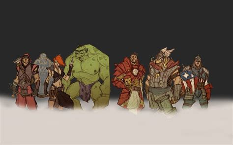 Hulk Comic Character Iron Man Comics Thor Captain