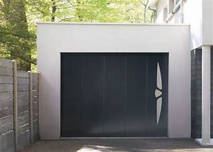 porte de garage enroulable sur mesure solabaie With porte de garage enroulable avec porte pvc gris anthracite