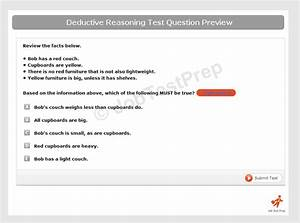 Deductive Reasoning Test - Learn And Practice