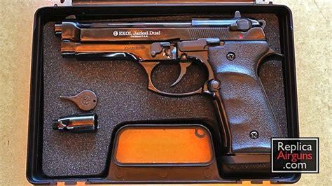 Ekol Jackal Dual 9mm P.a.k. Blank Gun Review