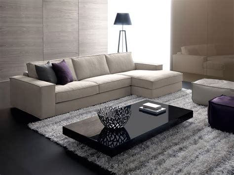 Modular Sofa With Wooden Frame, For Elegant Stand