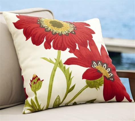 pottery barn outdoor pillows poppy indoor outdoor pillow pottery barn