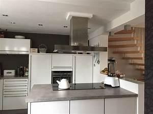 Offene Küche Planen : offene k che nach umbau in reihenhaus leicht fertiggestellte k chen ~ Sanjose-hotels-ca.com Haus und Dekorationen