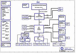 Acer Aspire 1640 Quanta Zl8 Rev 1a Sch Service Manual
