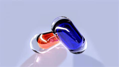 full hd wallpaper pill blue liquid transparent desktop
