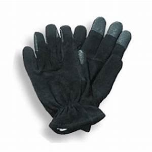 Black leather postal uniform super grip gloves for letter ca for Letter carrier gloves