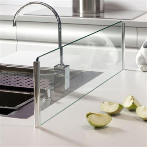 verre de cuisine crédence en verre pour îlot de cuisine